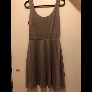 Petite dress - tan